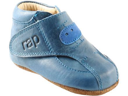 Rap HELICOPTER First Shoes Boots Velcro (Blue) 17 only!